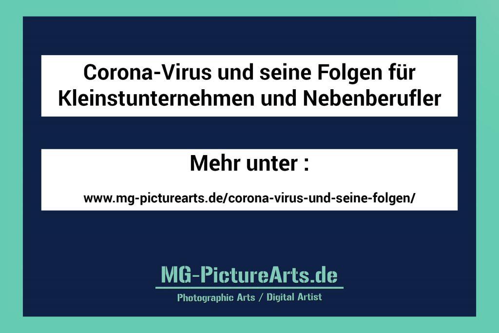 Corona-Virus und seine Folgen für Kleinstunternehmen und Nebenberufler